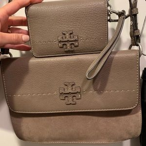 Tory Burch crossbody and wallet